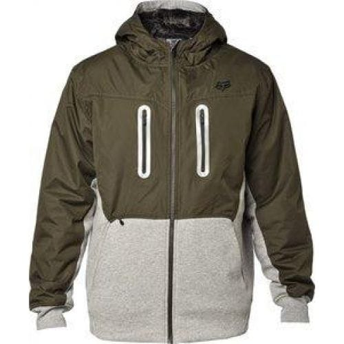 FOX  Barge Sasquatch Zip Fleece -17599 Military