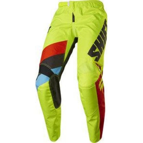 Shift  WHIT3 TARMAC PANT -17113 Flo Yellow