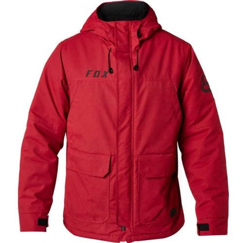 FOX  TRACKSIDE JACKET [DRK RD]