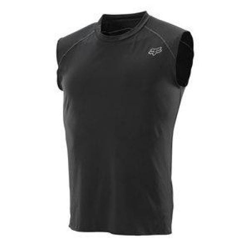 FOX  MX-JERSEY FIRST LAYER SLVLESS JERSEY BLACK