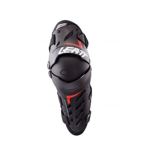 Leatt  KNEE & SHIN GUARD DUAL AXIS BLACK/RED