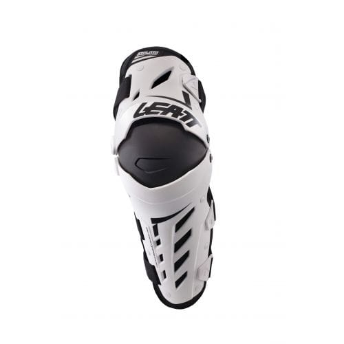 Leatt  KNEE & SHIN GUARD DUAL AXIS WHITE/BLACK