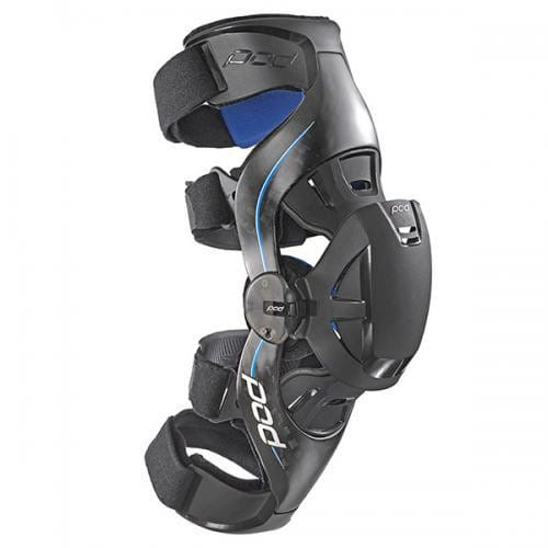 POD  POD K8 KNEE BRACE CARBON/BLUE