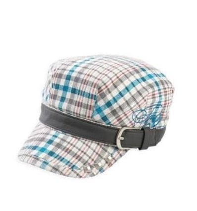 FOX  SAMPLE GIRLS MILITANTE CAP BONE