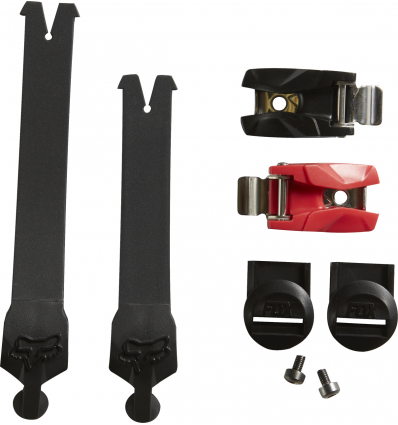 FOX COMP R STRAP KIT (6PC) [BLK]
